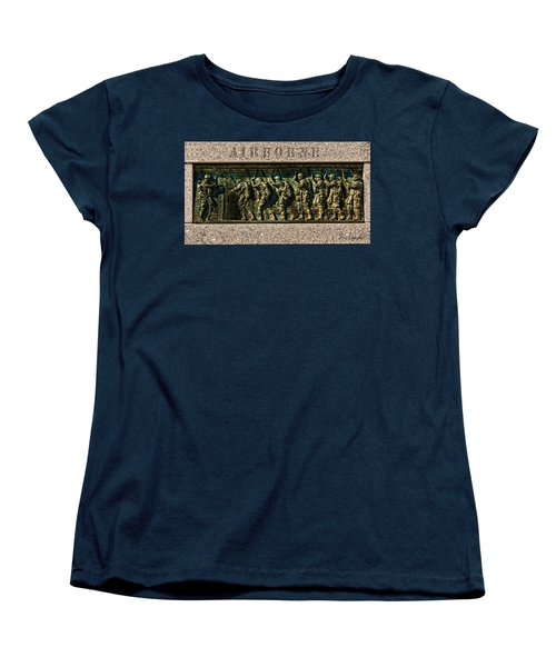 Airborne Women's T-Shirt (Standard Cut) by Christopher Holmes
