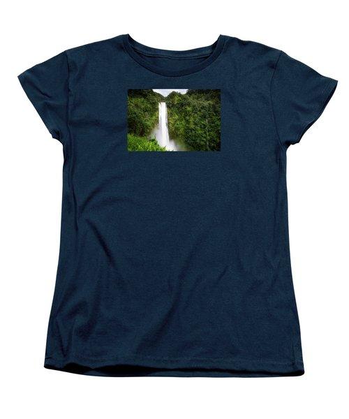 Akaka Falls Women's T-Shirt (Standard Cut) by Ryan Manuel