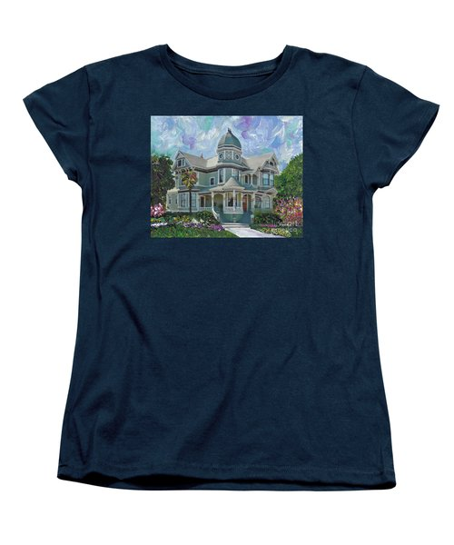 Alameda 1893  Queen Anne  Women's T-Shirt (Standard Cut) by Linda Weinstock