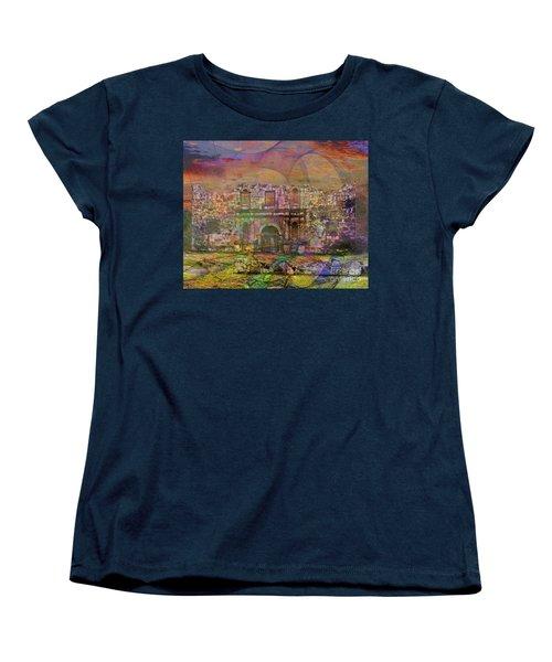 Alamo - After The Fall Women's T-Shirt (Standard Cut) by John Robert Beck