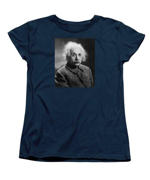 Albert Einstein Women's T-Shirt (Standard Cut) by Oren Jack Turner