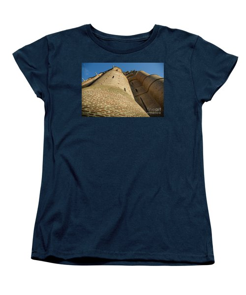 Albi Cathedral Low Angle Women's T-Shirt (Standard Cut) by RicardMN Photography