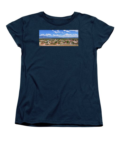 Women's T-Shirt (Standard Cut) featuring the photograph Albuquerque West Side by Gina Savage