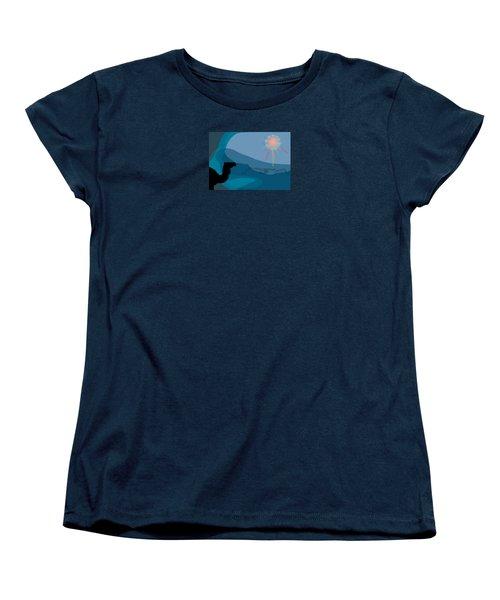 Alexander Epiphany A Women's T-Shirt (Standard Cut) by Stan  Magnan