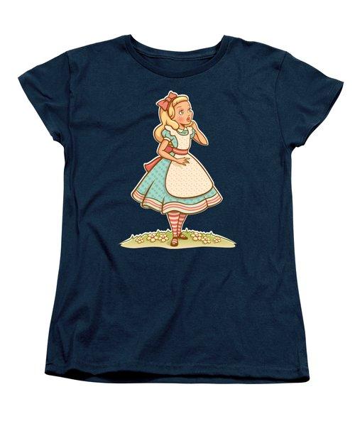 Alice Women's T-Shirt (Standard Cut) by Elizabeth Taylor