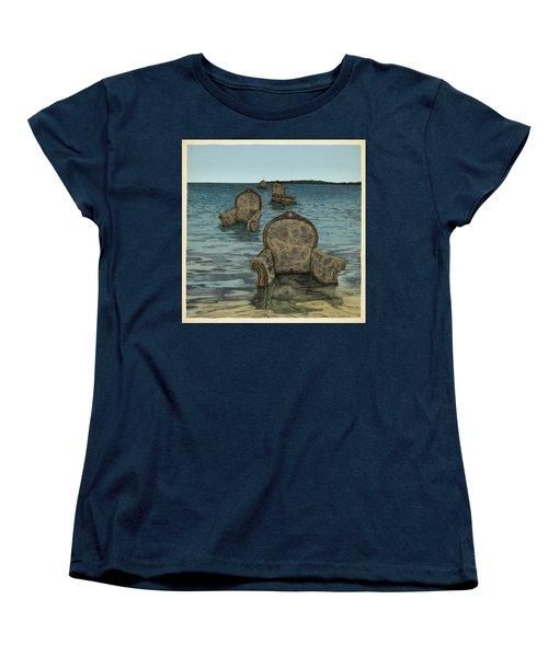 Alices Tears Women's T-Shirt (Standard Cut) by Meg Shearer