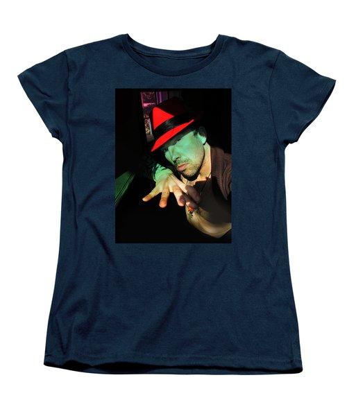Alien Hat Women's T-Shirt (Standard Cut) by John Jr Gholson