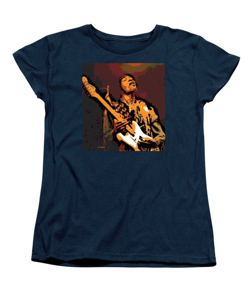 All Along The Watchtower Women's T-Shirt (Standard Cut) by George Pedro