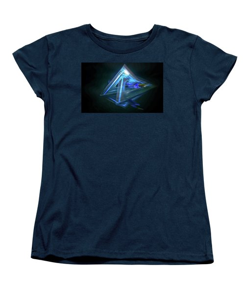 All Angles Covered Women's T-Shirt (Standard Cut) by Mark Dunton