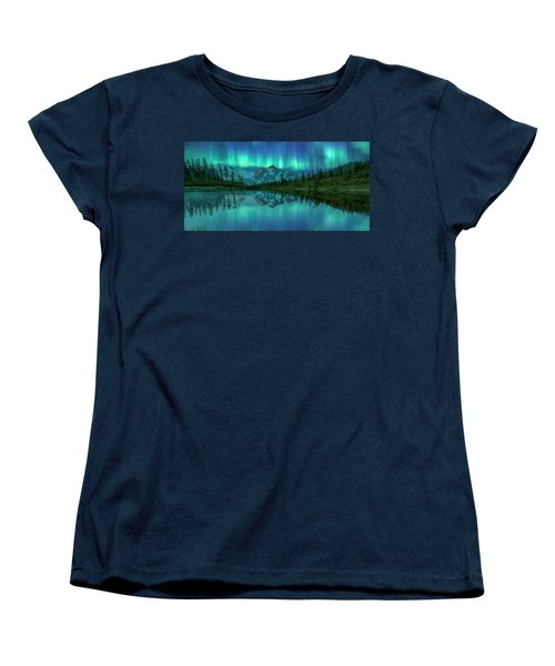 Women's T-Shirt (Standard Cut) featuring the photograph All In My Mind by Jon Glaser