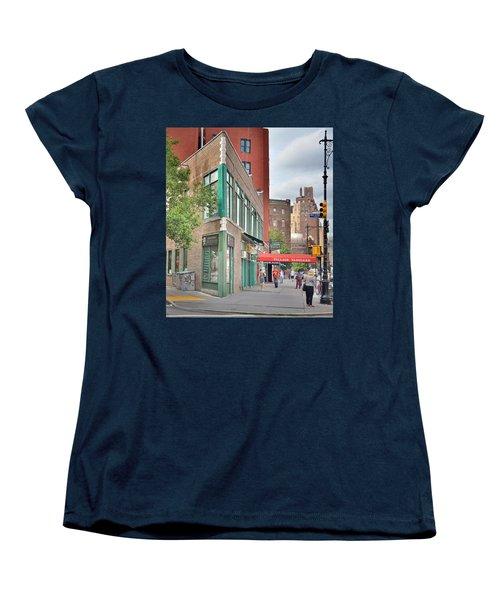 All That Jazz - Greenwich Village Vangaurd  Women's T-Shirt (Standard Cut) by Jeffrey Friedkin