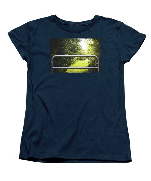 Women's T-Shirt (Standard Cut) featuring the photograph All Things Green by Shelby Young