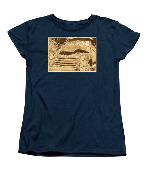 Women's T-Shirt (Standard Cut) featuring the photograph All Used Up by Victor Montgomery