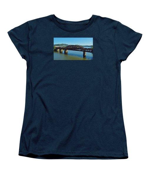 Allegheny Crossing Women's T-Shirt (Standard Cut) by William Bartholomew