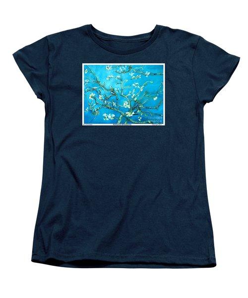 Almond Blossom Women's T-Shirt (Standard Cut) by Eric  Schiabor
