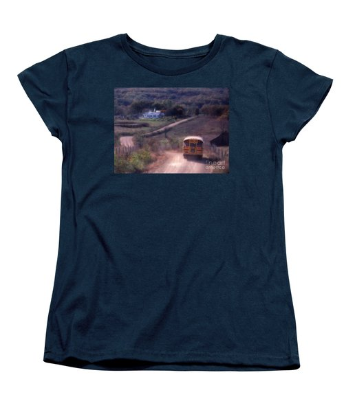 Almost Home Women's T-Shirt (Standard Cut) by Garry McMichael