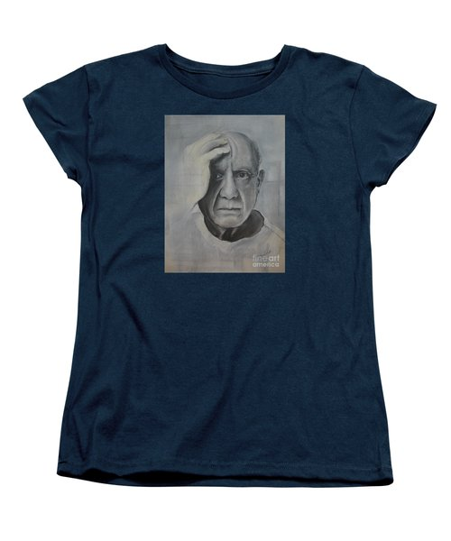 Almost Picasso Women's T-Shirt (Standard Cut) by Allison Ashton
