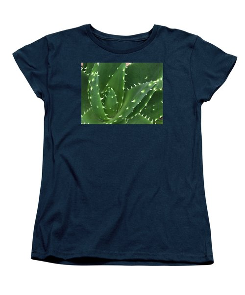 Aloe-icious Women's T-Shirt (Standard Cut) by Russell Keating
