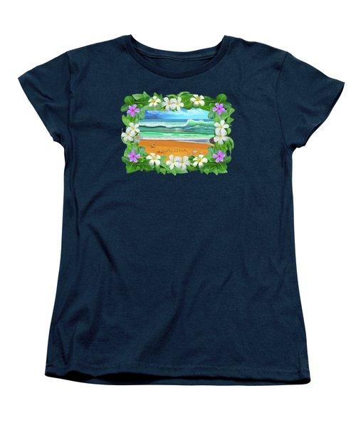 Aloha Hawaii Women's T-Shirt (Standard Cut) by Glenn Holbrook