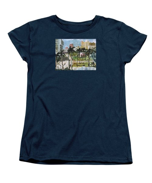 Along Flagler Drive Women's T-Shirt (Standard Cut)