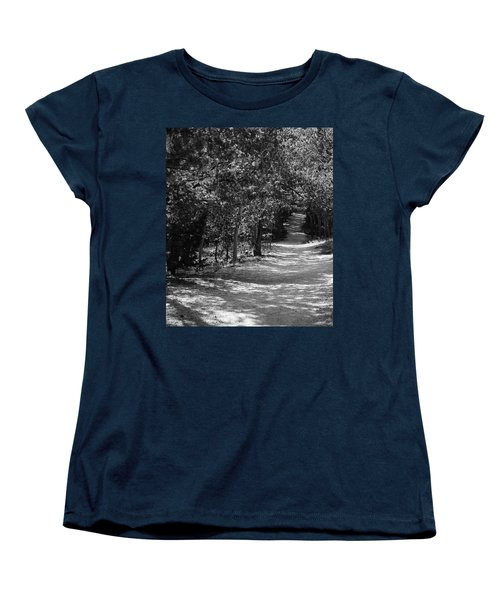 Along The Barr Trail Women's T-Shirt (Standard Cut) by Christin Brodie