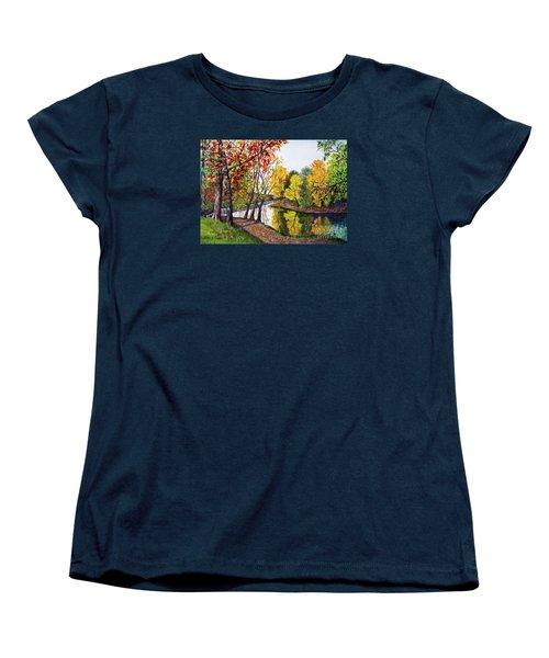 Along The Blanchard Women's T-Shirt (Standard Cut) by Nancy Cupp