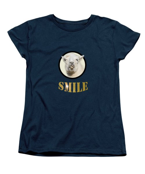 Alpaca Smile  Women's T-Shirt (Standard Cut)