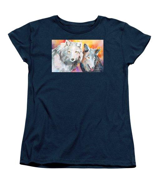 Alpha Beta Women's T-Shirt (Standard Cut)