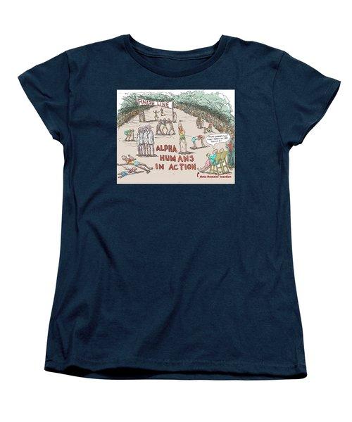 Alpha V. Beta Women's T-Shirt (Standard Cut)