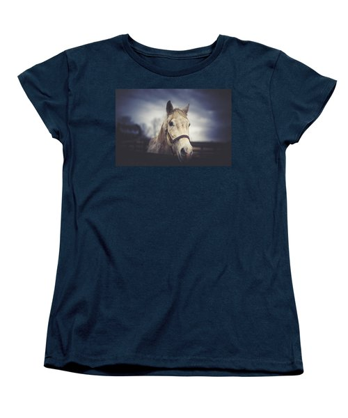Women's T-Shirt (Standard Cut) featuring the photograph Alphabet Soup by Shane Holsclaw