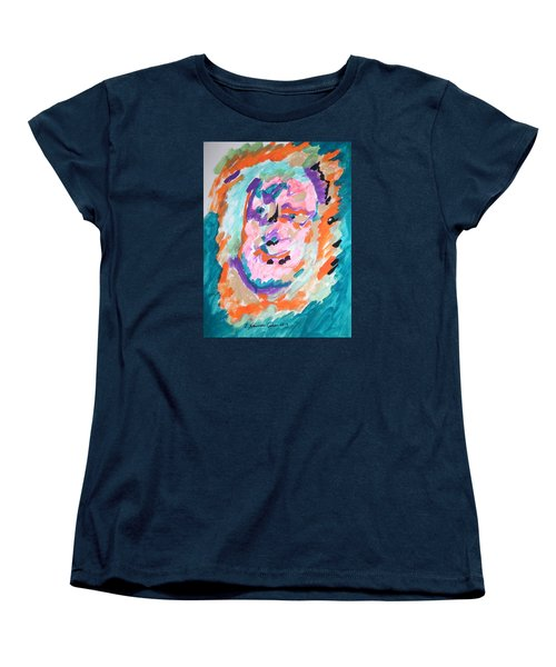 Women's T-Shirt (Standard Cut) featuring the painting Alter Ego by Esther Newman-Cohen