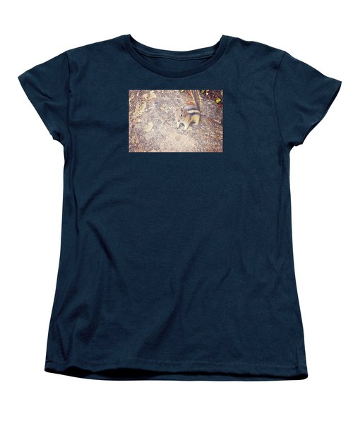 Women's T-Shirt (Standard Cut) featuring the photograph Alvin The Chipmunk by Janie Johnson