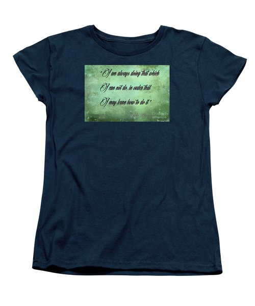 Women's T-Shirt (Standard Cut) featuring the photograph Always by Jim  Hatch