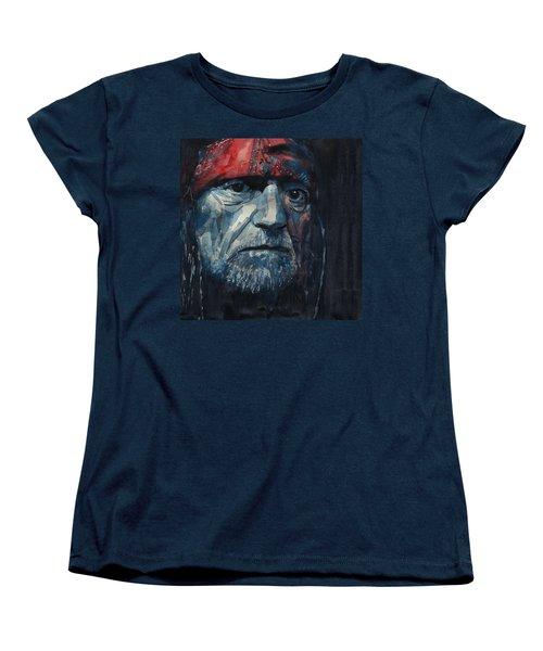 Always On My Mind - Willie Nelson  Women's T-Shirt (Standard Cut)
