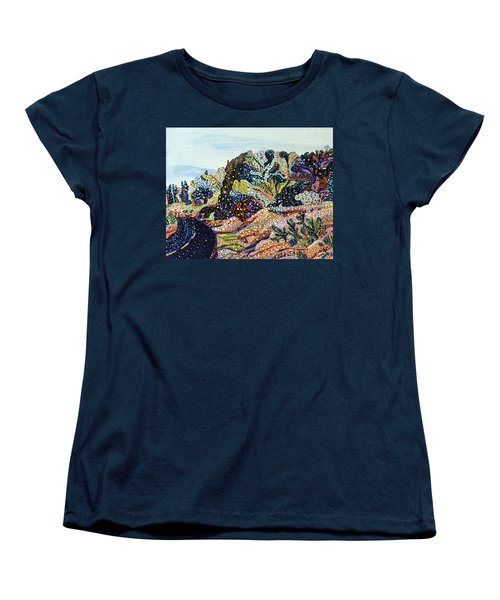 Always Returning Women's T-Shirt (Standard Cut) by Erika Pochybova