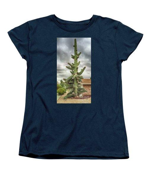Arizona Christmas Tree Women's T-Shirt (Standard Cut) by Anne Rodkin