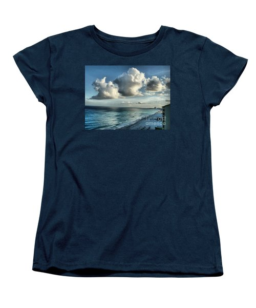 Women's T-Shirt (Standard Cut) featuring the photograph Amazing Clouds by Polly Peacock