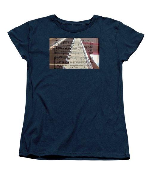 Amazing Grace Women's T-Shirt (Standard Cut) by Betty Northcutt