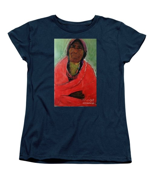 Women's T-Shirt (Standard Cut) featuring the painting Amazing Grace by FeatherStone Studio Julie A Miller