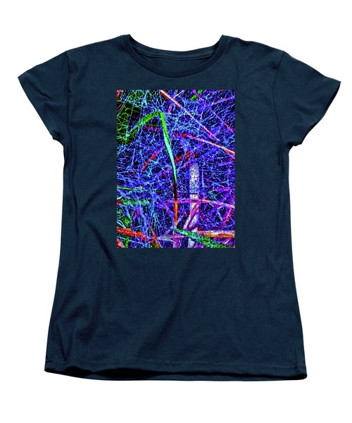 Amazing Invisible Web Women's T-Shirt (Standard Cut) by Gina O'Brien