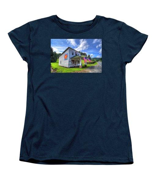 Americana Women's T-Shirt (Standard Cut) by Dale R Carlson