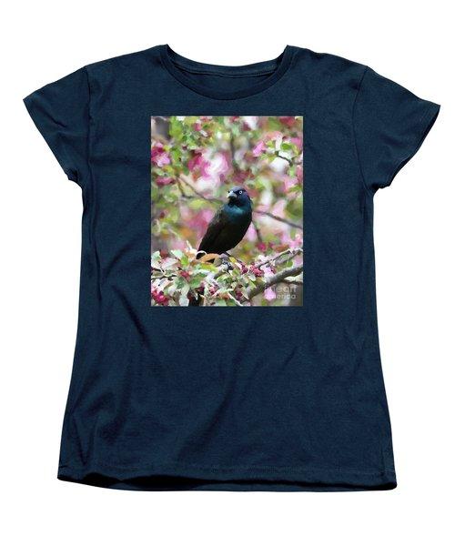 Among The Blooms Women's T-Shirt (Standard Cut)