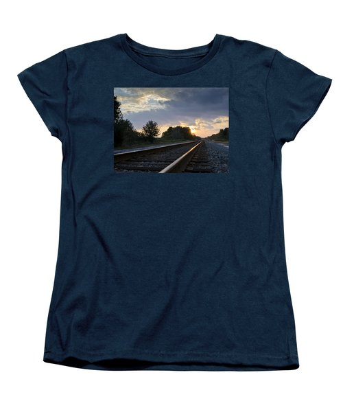 Amtrak Railroad System Women's T-Shirt (Standard Cut)