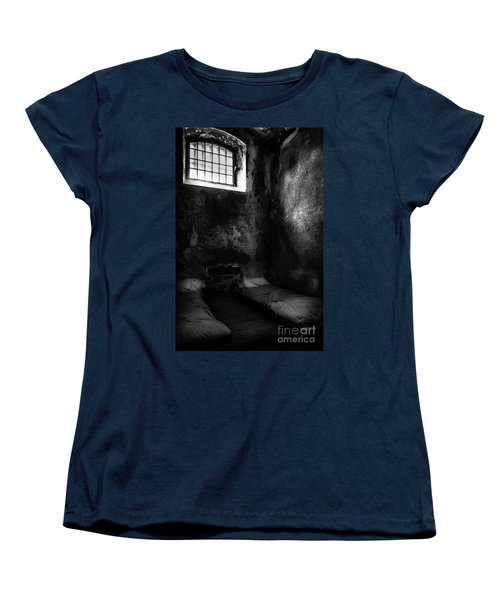 Women's T-Shirt (Standard Cut) featuring the photograph An Empty Cell In Old Cork City Gaol by RicardMN Photography