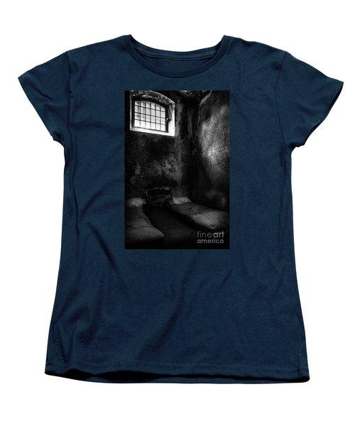 An Empty Cell In Old Cork City Gaol Women's T-Shirt (Standard Cut) by RicardMN Photography