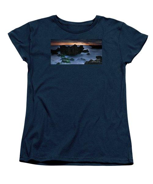 An Escape Women's T-Shirt (Standard Cut) by Kym Clarke