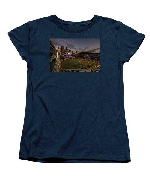 An Evening At Target Field Women's T-Shirt (Standard Cut) by Tom Gort