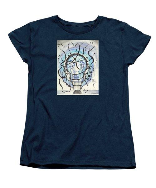 An Idea Women's T-Shirt (Standard Cut) by Darren Cannell