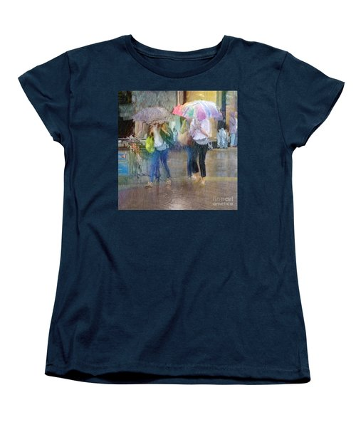Women's T-Shirt (Standard Cut) featuring the photograph An Odd Sharp Shower by LemonArt Photography