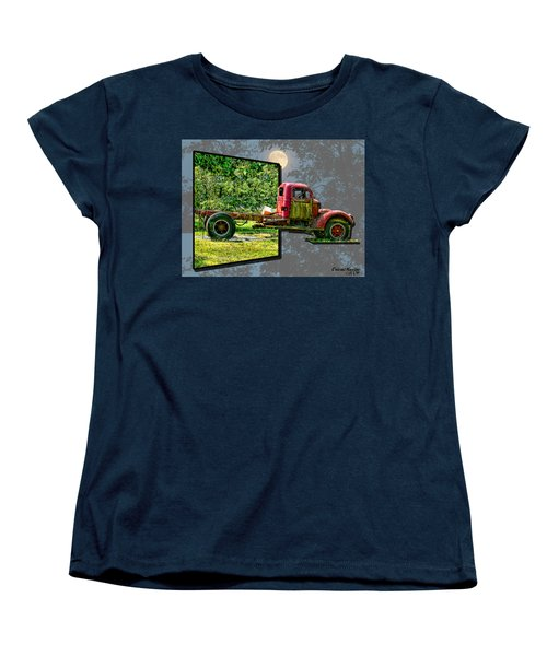 Women's T-Shirt (Standard Cut) featuring the photograph An Old Relic by EricaMaxine  Price